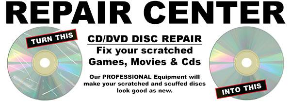 Fix Scratched Discs!