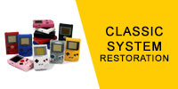 Classic Video Game System Restoration